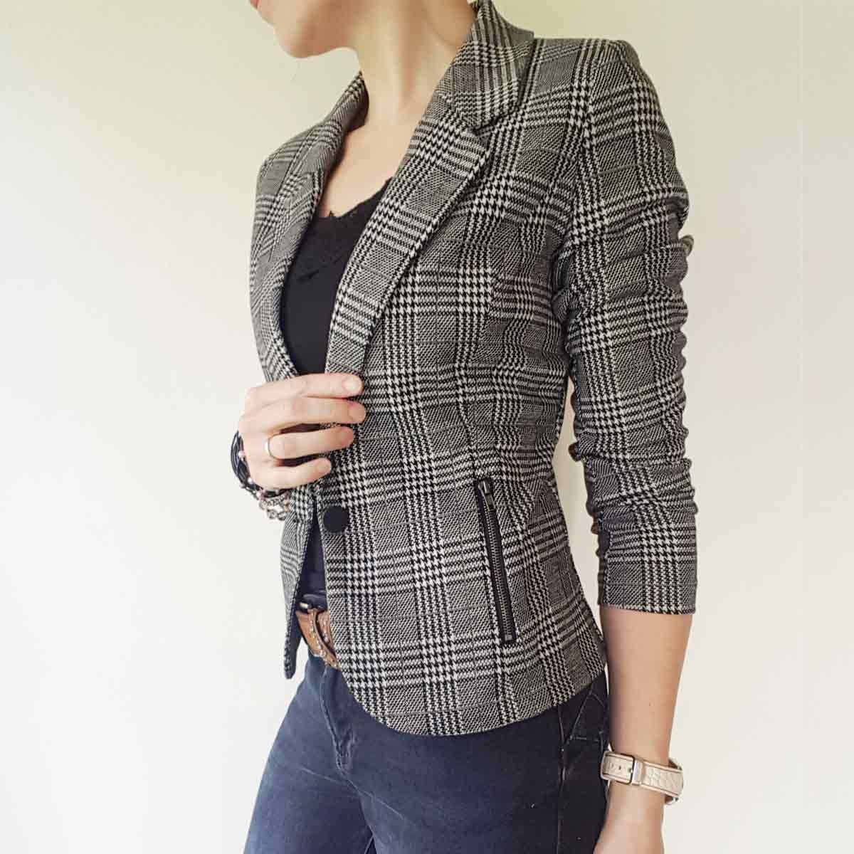 Nanni Check Jacket FreeQuent