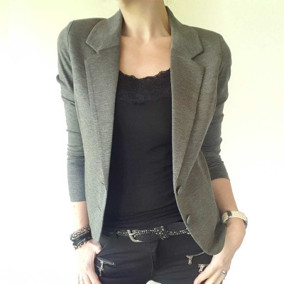 Nanni Jacket Grey - FreeQuent