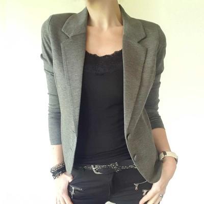 Nanni Jacket Grey - FreeQuent