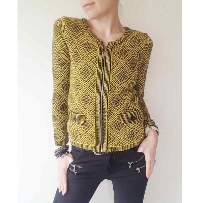 Mustard Knit Jacket - Signature