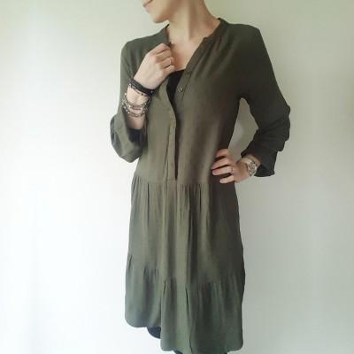 Amina Dress - Ofelia (grøn)