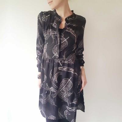 Kilpine Dress - Ofelia (gråsort)