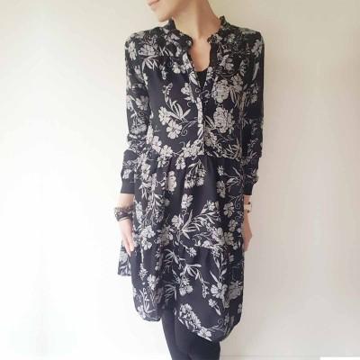 Kilpine Dress - Ofelia (sort/hvid)