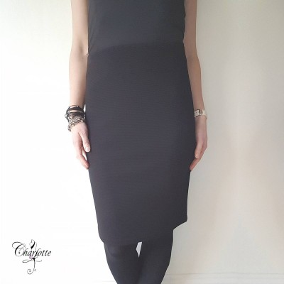 Black Elements Skirt - Lebek