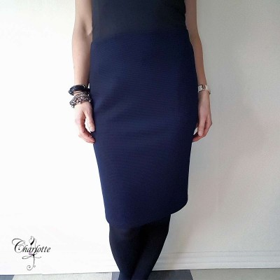 Blue Elements Skirt - Lebek