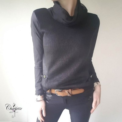 Raw Knit Blouse - NÜ