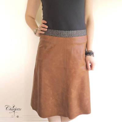 Madelon Coated Skirt - One Two