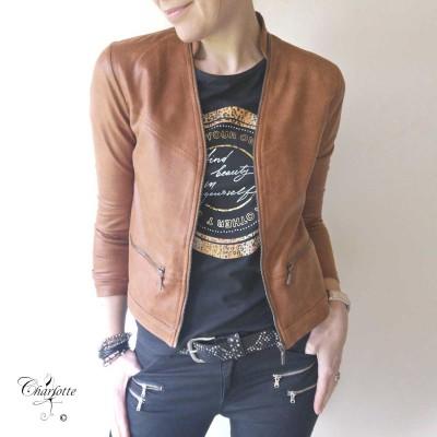 Maise Coated Jacket - One Two