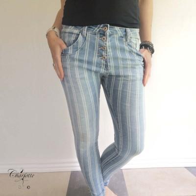 Striped Jeans - Place du Jour