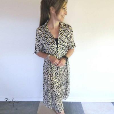 Animal Print Dress - Luizacco