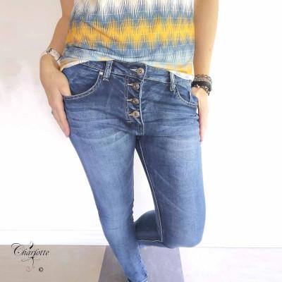 Soft Denim Jeans - Place Du Jour