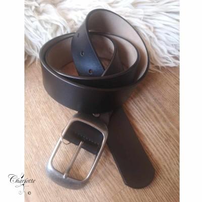 Plain Leather Bælte