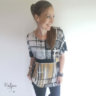 Camel Oversize Blouse - Sara Louise