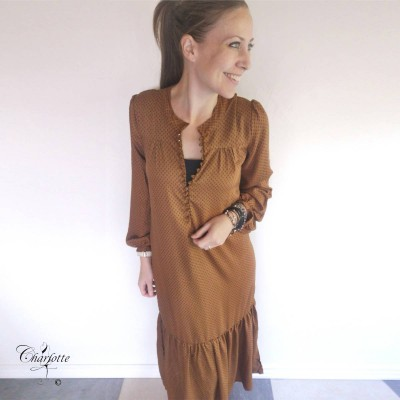 Long Camel Dress - Vanting