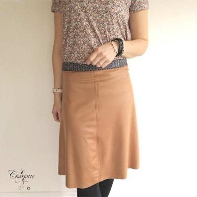 Madelon Coated Skirt - One Two