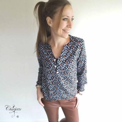 Benedicte Shirt Leaf - Ofelia