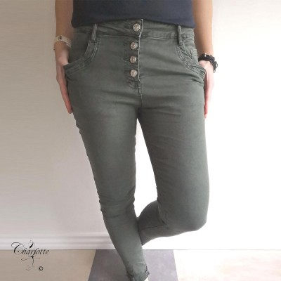 Kammy Twill Pants - Ofelia