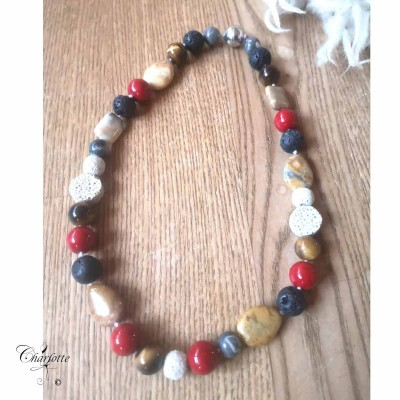 Lava Sand Necklace