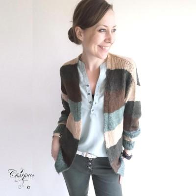 Cecilie Knit Cardigan - Ofelia
