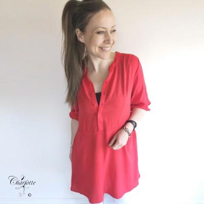 Nellia Red Tunic - Ofelia
