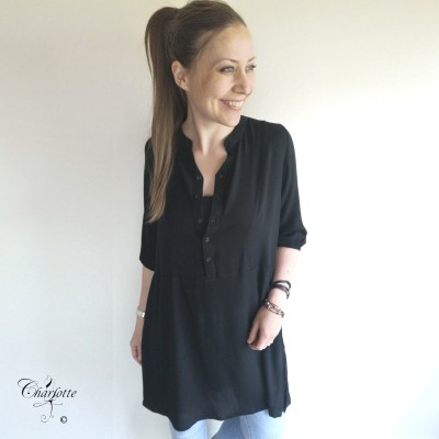 Nellia Black Tunic - Ofelia