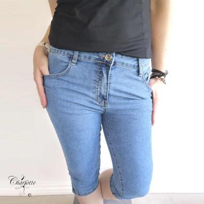 Capri Jeans Zip - B.S Jeans