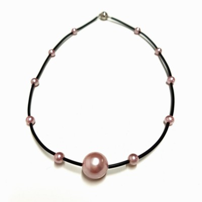 Shellpearl Purple - JK Necklace