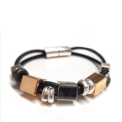 Rubber Square Bracelet