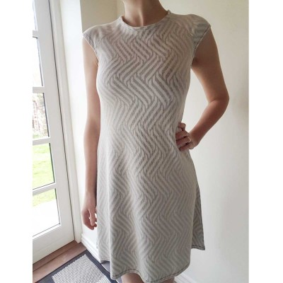Light Grey Dress - Vanting
