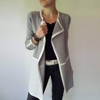 Light Grey Cardigan - Marinello